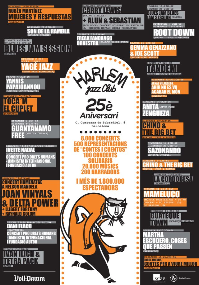 Harlem Jazz Club Anniversary