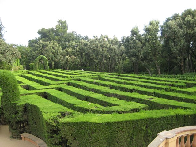 Labyrinth Park - maze - laberint