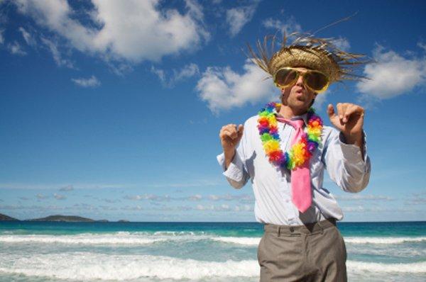 Ed Hamilton beach hat