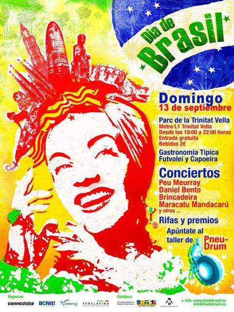 Dia de Brazil en Catalunya