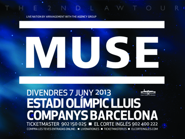 Muse Giveaway Ticket