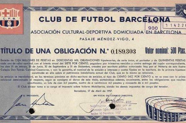 Barça Bonds