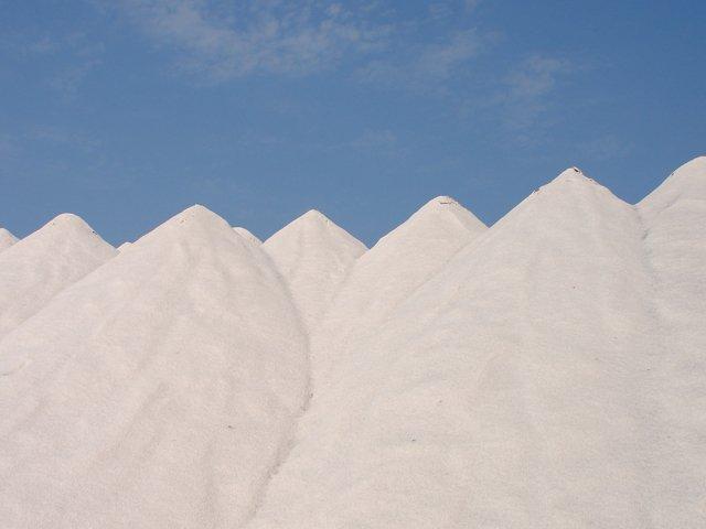 Sun-dried salt