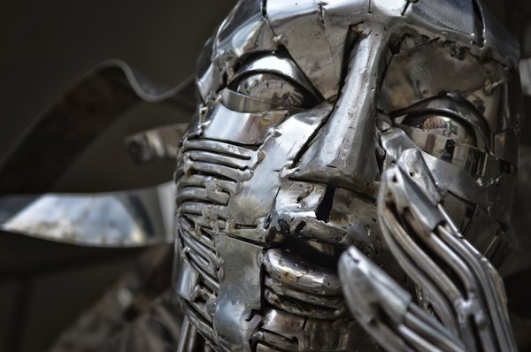Metal Skin: Street Sculpture
