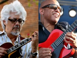 Larry Coryell and Mark Whitfield  - Jamboree Guitar Cycle