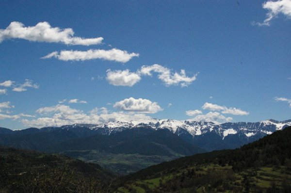Pyrenean Mountain Range