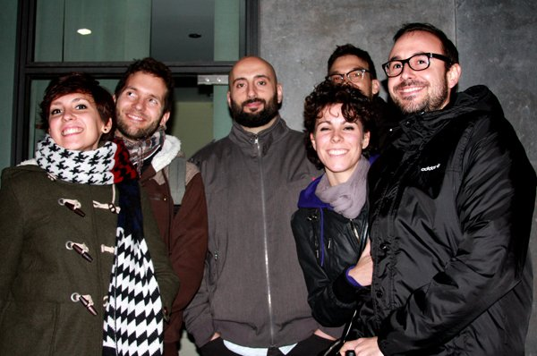 Isa, Ferran, Vince, David, Diana & Xavi