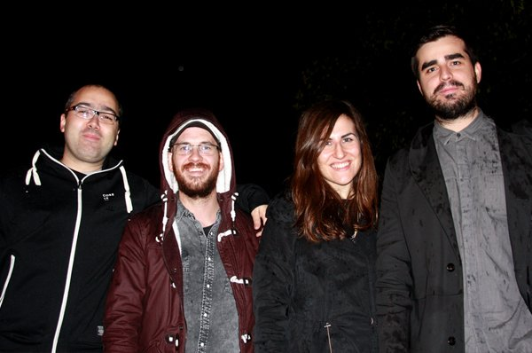 Albert, Daniel, Cristina & Victor
