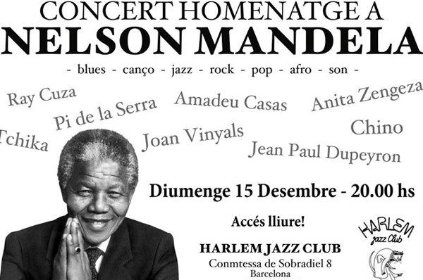 Homenatge a Nelson Mandela