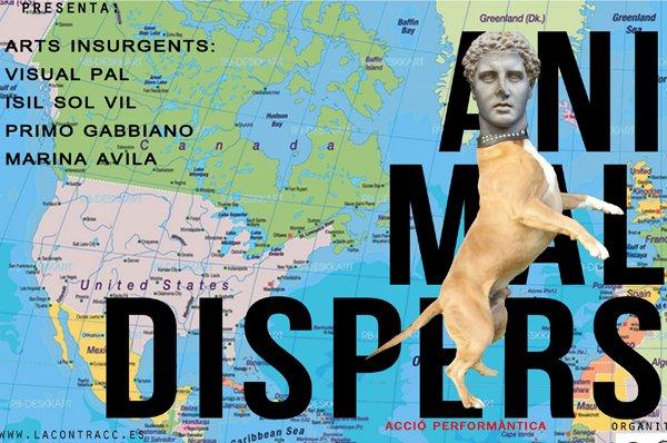 animal dispersed