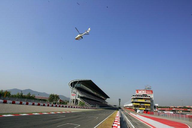 F1 circuit Montmelo