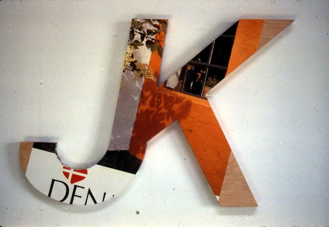 Logotype (project for documenta 7, 1982)