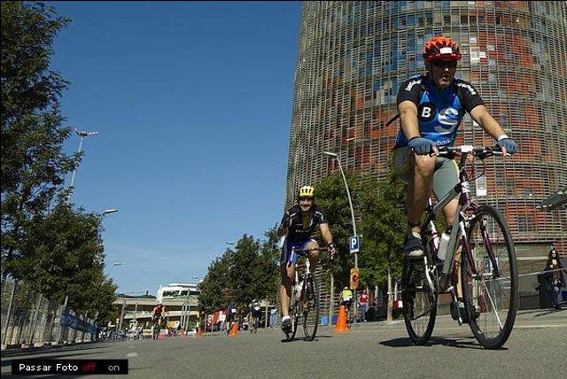 Triathlon cyclers