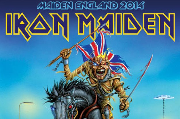 Iron Maiden England 2014