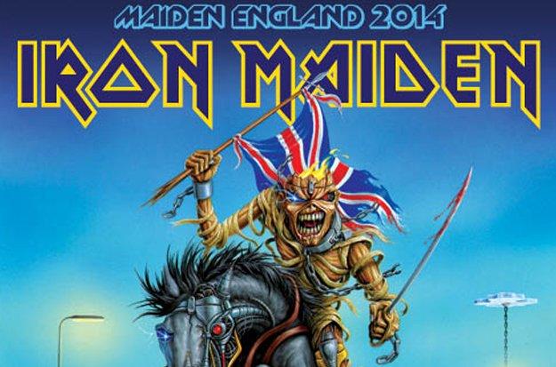 Iron Maiden England 2014