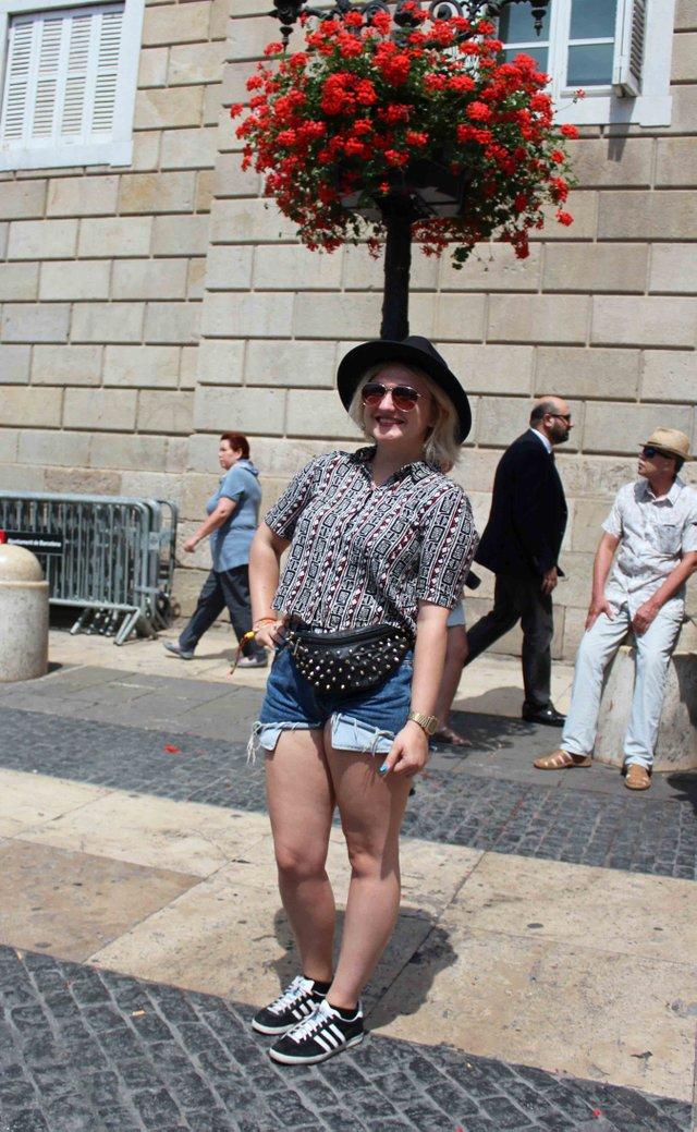 Barcelona Street Style June 12th