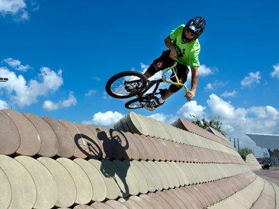 BMX tourism home