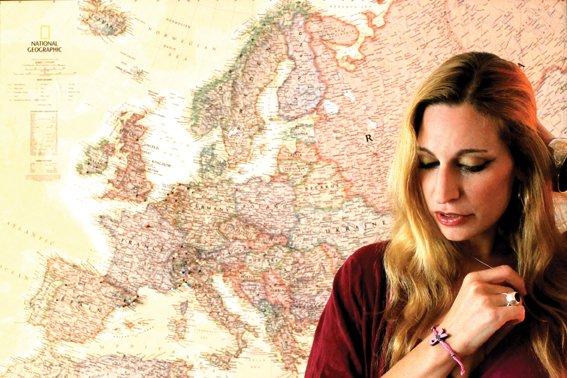 tori and map.jpg