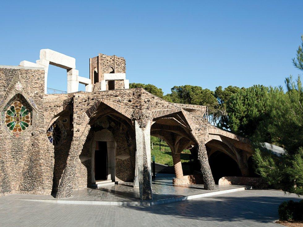 A gaud getaway barcelona for Barcelona jardin gaudi
