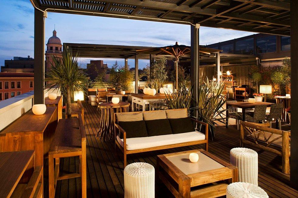 barcelona 39 s best hotel terraces barcelona. Black Bedroom Furniture Sets. Home Design Ideas