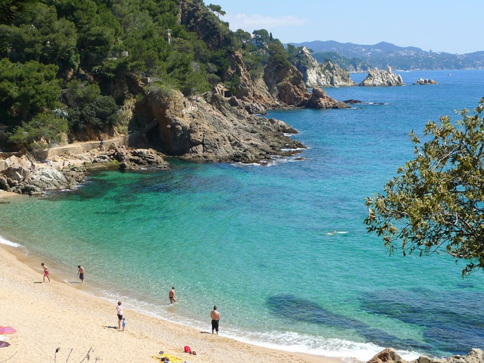 Beaches South Of Barcelona