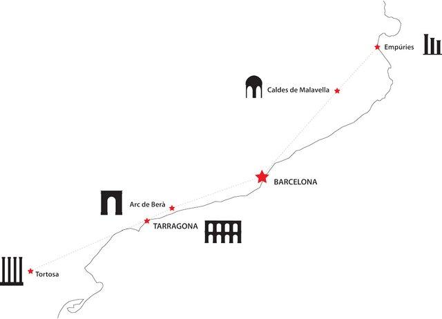 The Via Augusta - (barcelona-metropolitan.com)