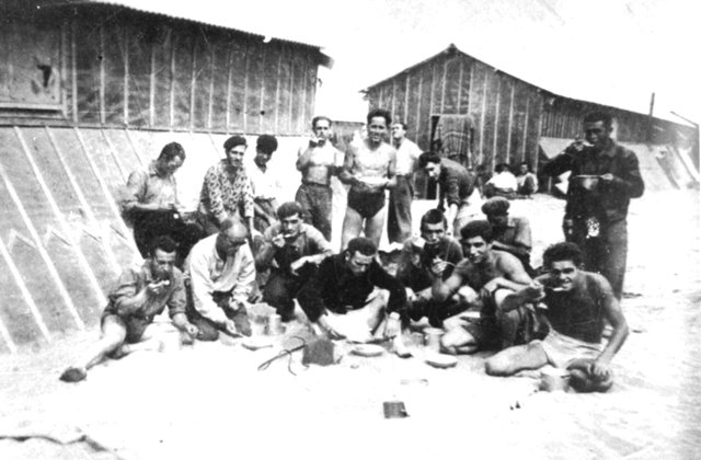 Argeles refugee camp 1939