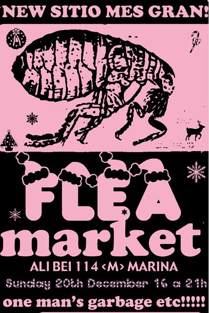 Christmas flea market