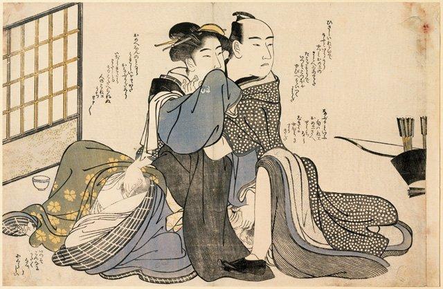 Imatges secretes. Picasso i l'estampa erotica japanesa