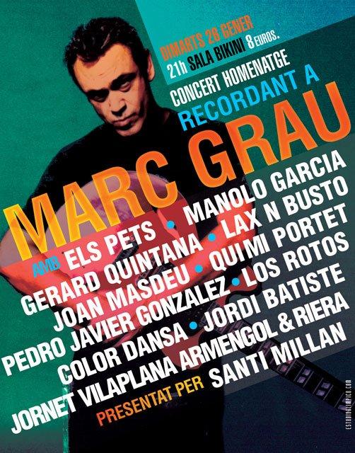 Recordant a Marc Grau