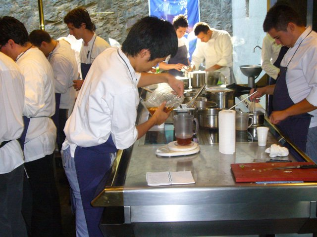 El Bulli chefs home
