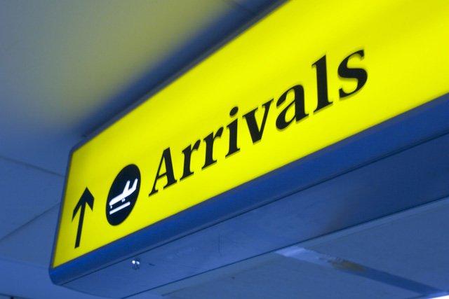 New arrivals - just landed