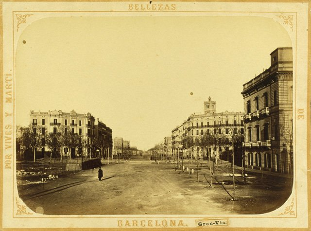 Barcelona as it used to be - history