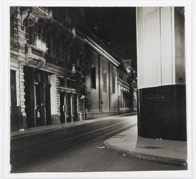 Calle San Martín a las 24h (Buenos Aires), 1936