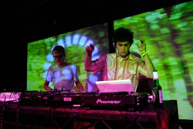 Simian Mobile Disco DJs