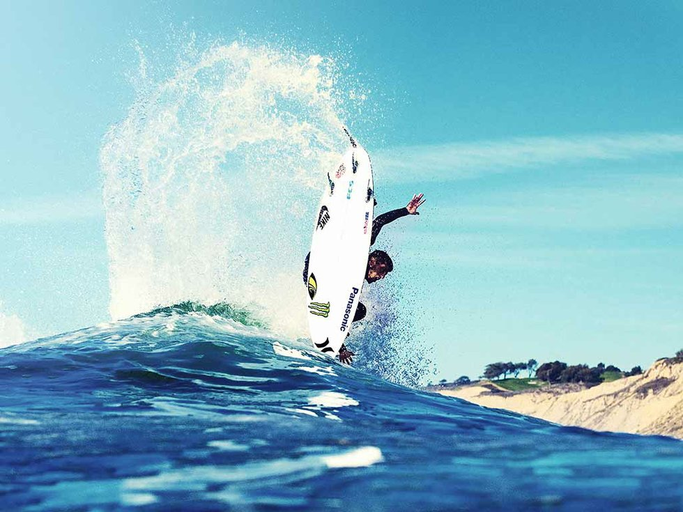 Surfing in Barcleona
