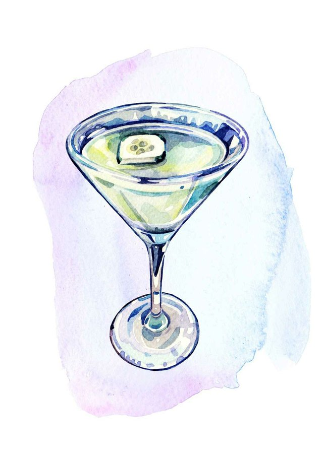 Martini Illustration