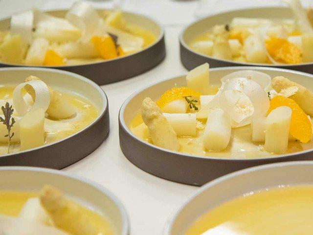 Restaurant Xavier Pellicer cuisine