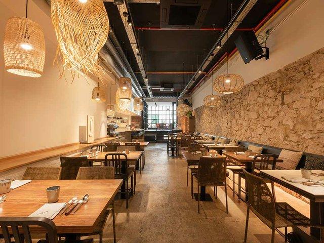 Restaurant Xavier Pellicer dining area