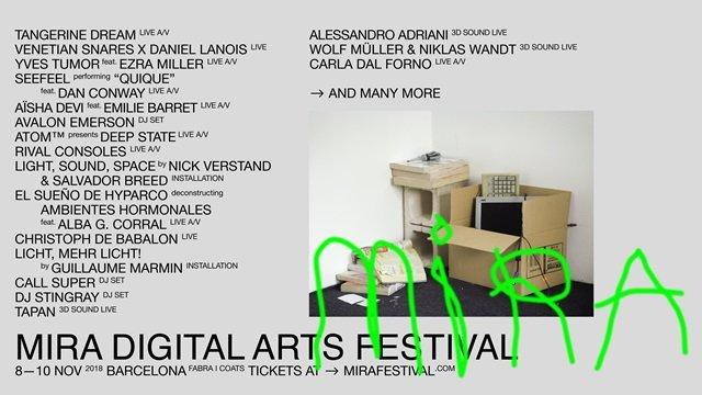MIRA Digital Arts Festival