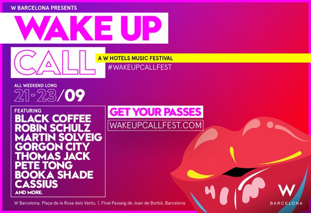 WAKE UP CALL MUSIC FEST