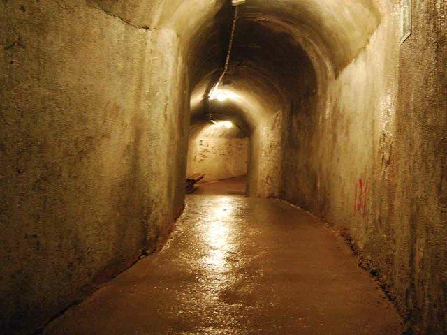 Refugi Antiaeri 307, interior