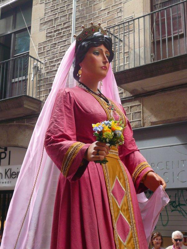 gegant La Merce Barcelona