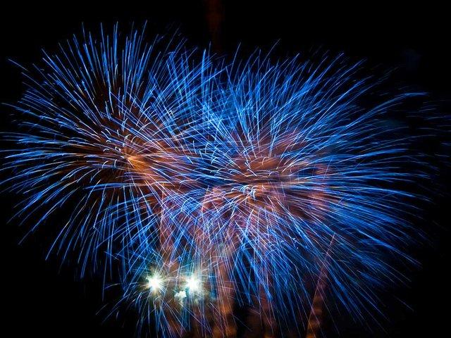 La Mercè Beach Fireworks Show