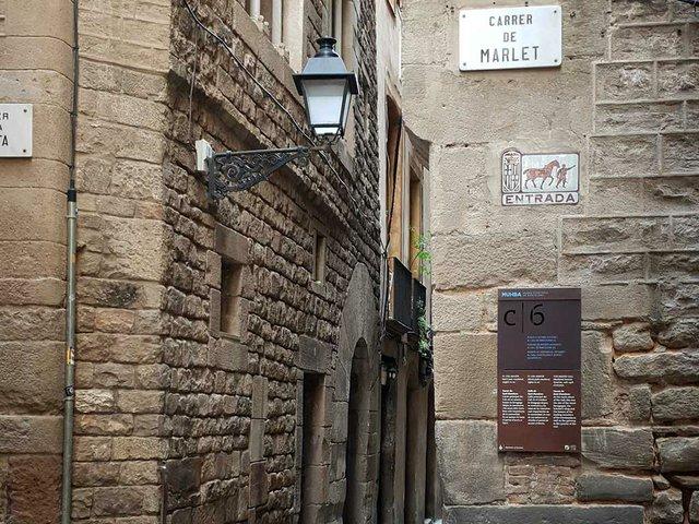 History: Carrer de Marlet