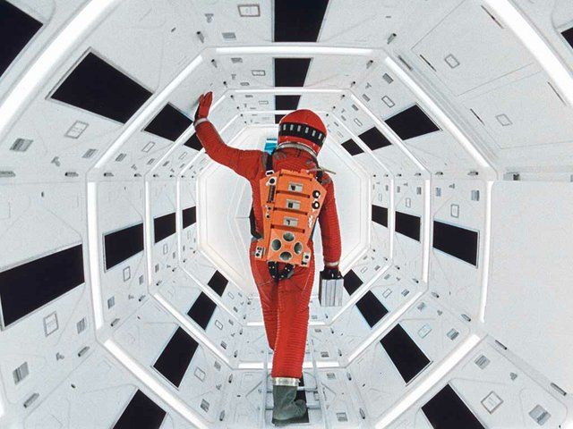 """2001: A Space Odyssey,"" directed by Stanley Kubrick (1965-68; GB/United States). Film still. © Warner Bros. Entertainment Inc."