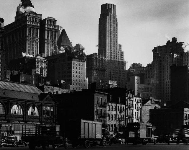 berenice-abbot West Street, 1932.jpg