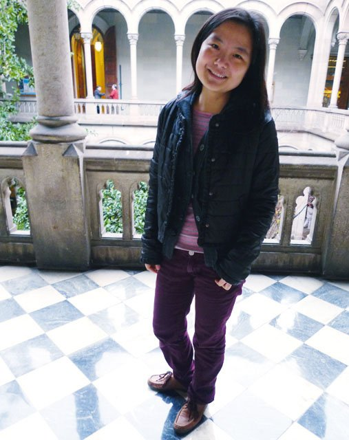 Xiaolei Yang; China; in Barcelona—1.5 years