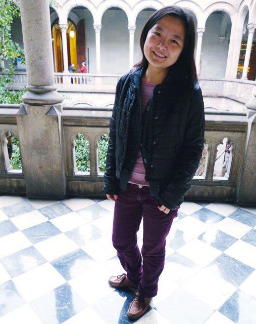 Xiaolei Yang; China; in Barcelona—1.5 years