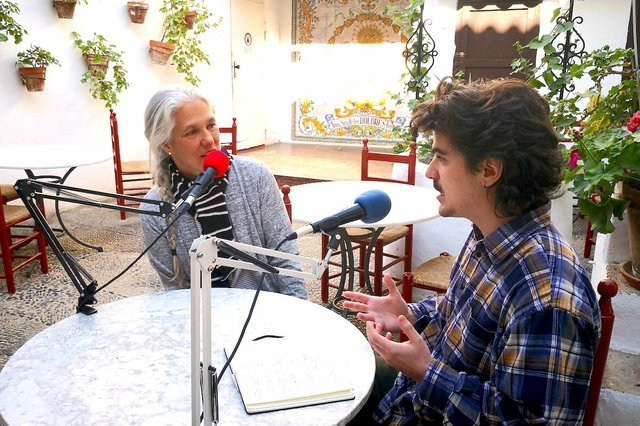 Mimo Agüero in conversation with Harry Stott